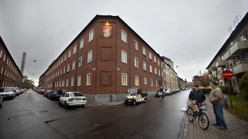 Bostadsområdet Seved, södra Sofielund, i Malmö