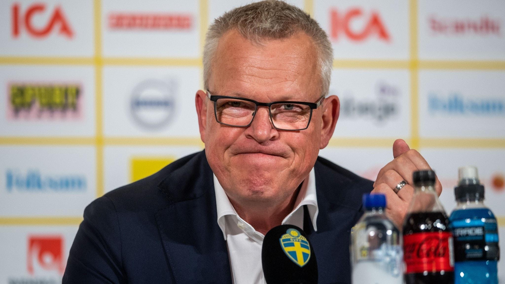 Janne Andersson. Arkivbild.