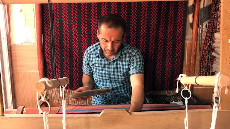 Arif Ayan bor i Hasankeyf och en är av alla invånare som kommer behöva flytta.