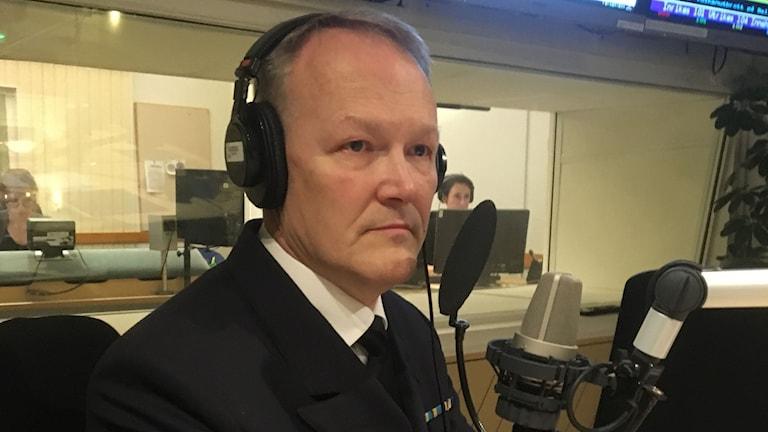 Mats Nordin, FOI, överingenjör för marina system på Totalförsvarets forskningsinstitut.