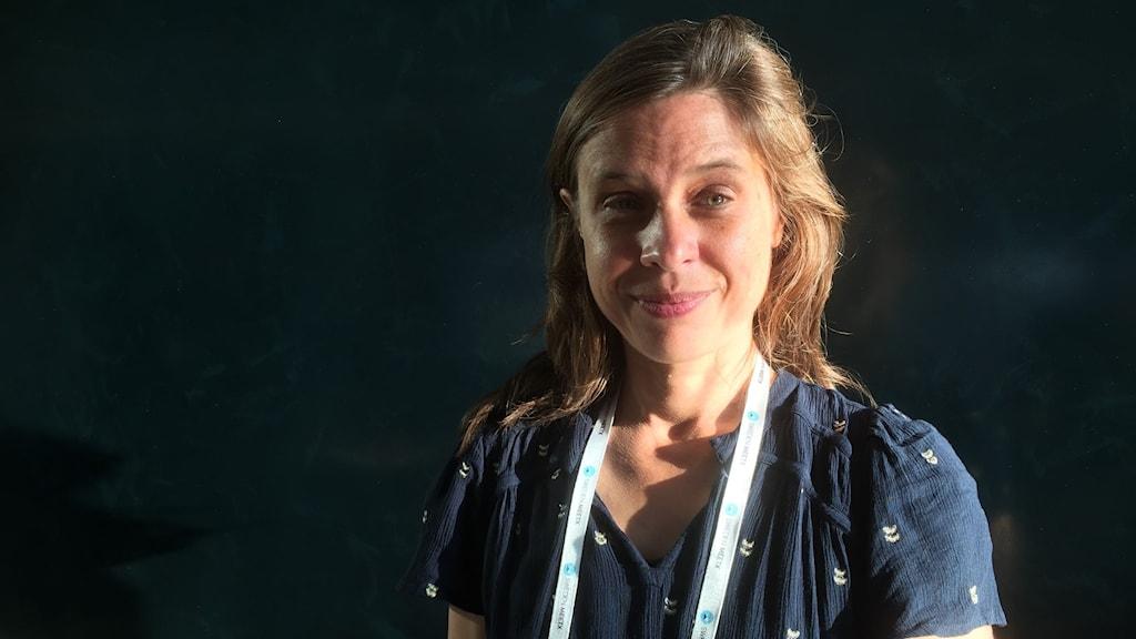 """Catherine Belton, författare till prisad och stämd bok """"Putins krets""""."""
