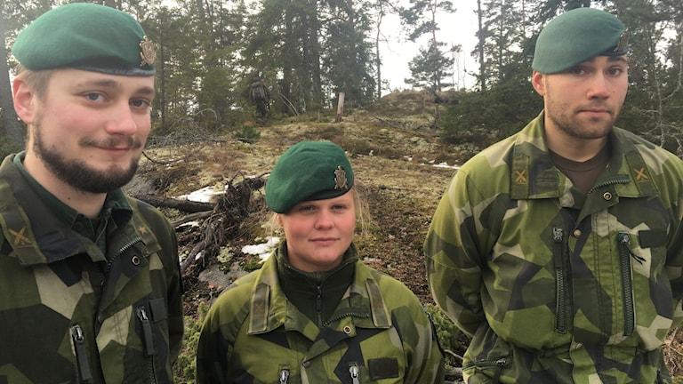 Bengt Nitz, operativ chef vid amfibieregmentet, ser fram mot Aurora.