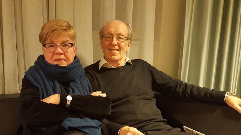Lena Mellin och KG Bergström