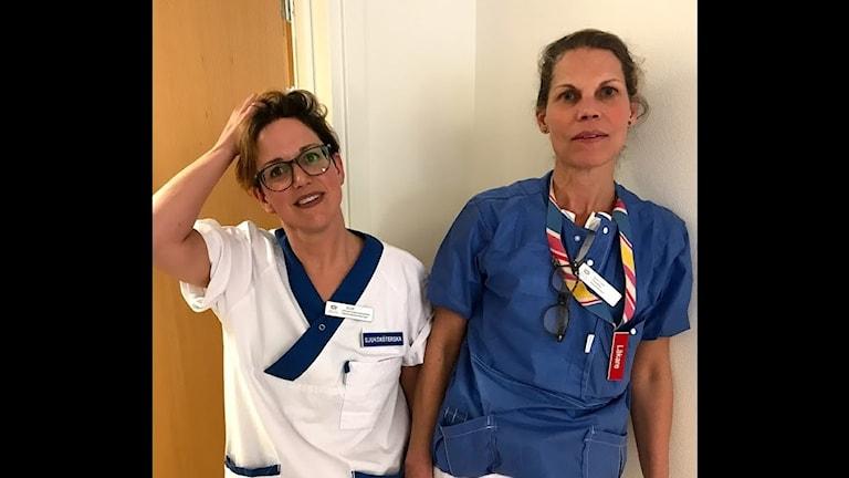 Två IVA-läkare.