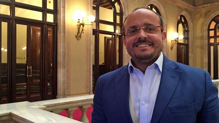 Alejandro Fernandez från Partido Popular i Katalonien.