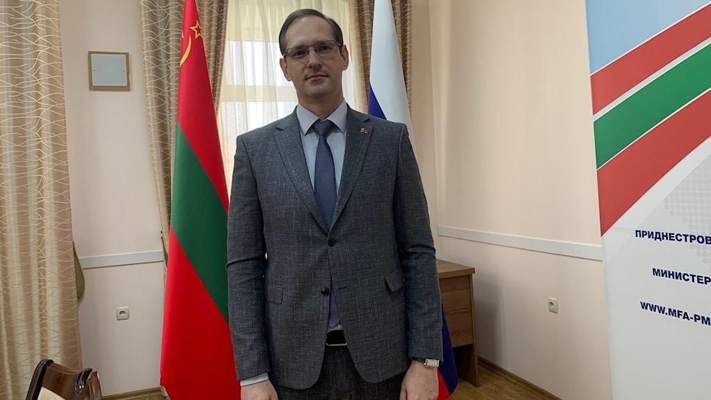 Transnistriens utrikesminister Vitalij Ignatiev.