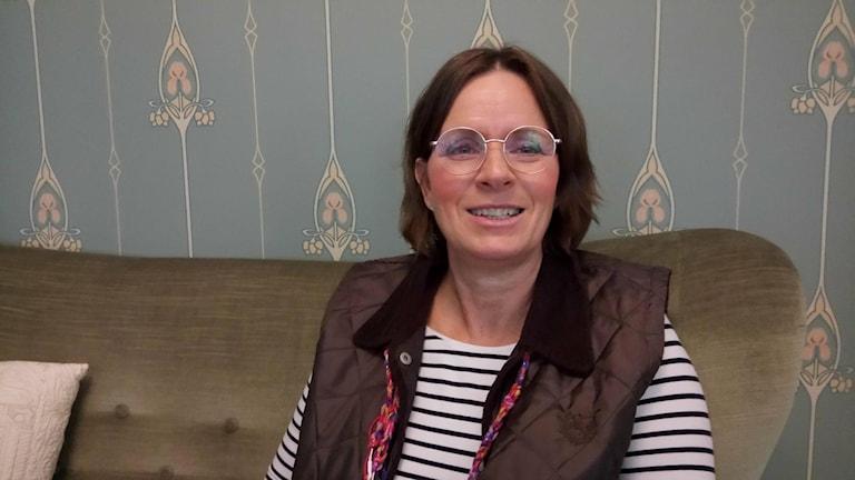 Lena Gårdh, som har levt med Parkinsons sjukdom i 17 år.