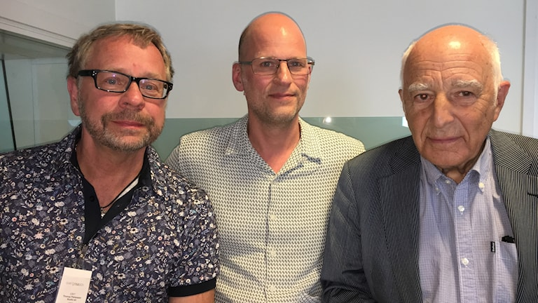 Thomas Pettersson, Mattias Göransson och Leif Silbersky.