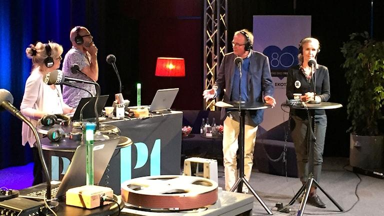 Inger Arenander och Rolf Stengård
