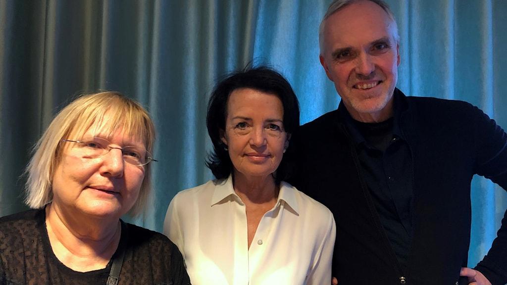 Susanne Palme, Anne Ramberg och Jon Karlung.