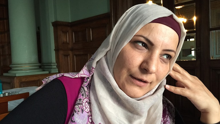 Naela Khalil, palestinsk journalist.
