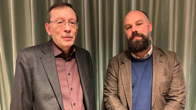 Lars Calmfors och Daniel Suhonen.