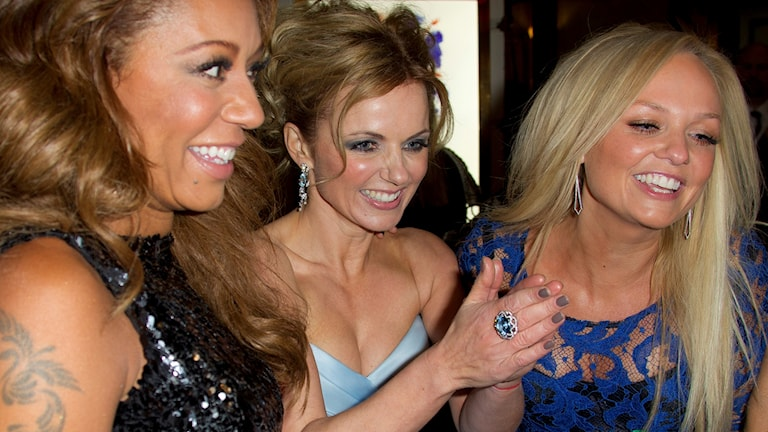 Arkivbild. Spice Girls från 2012.