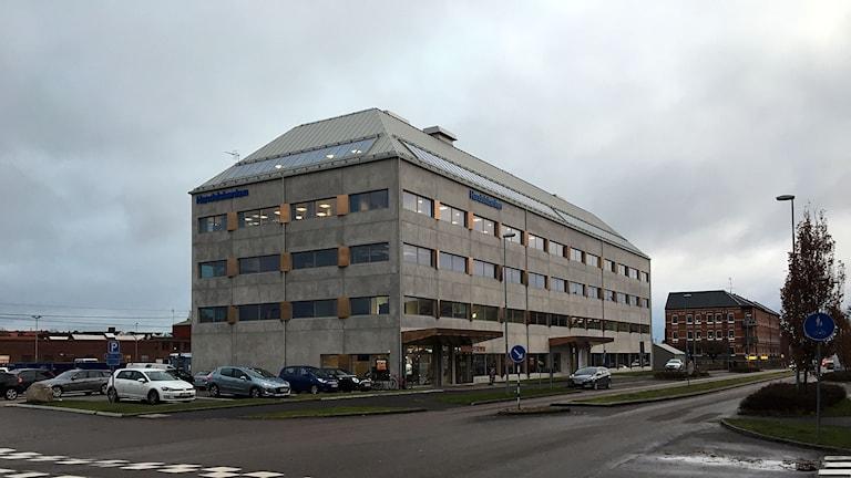 Kontorshus vid Gamletullsgatan i Halmstad