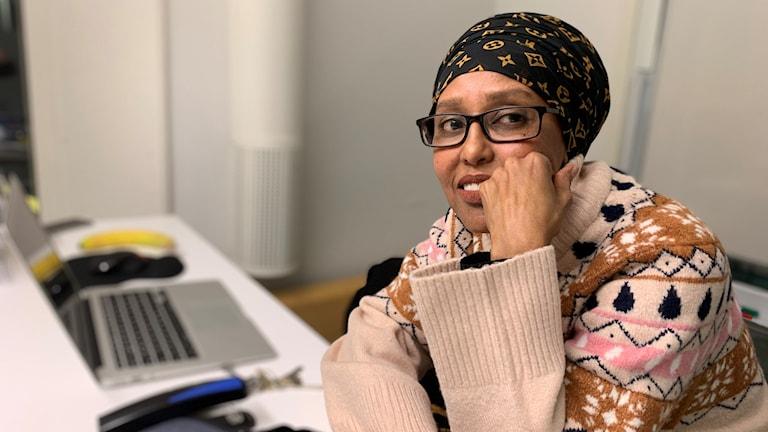 Alma Adan projektkoordinator Kompass