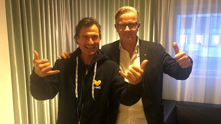 Petter Stordalen och Magnus Wikner.