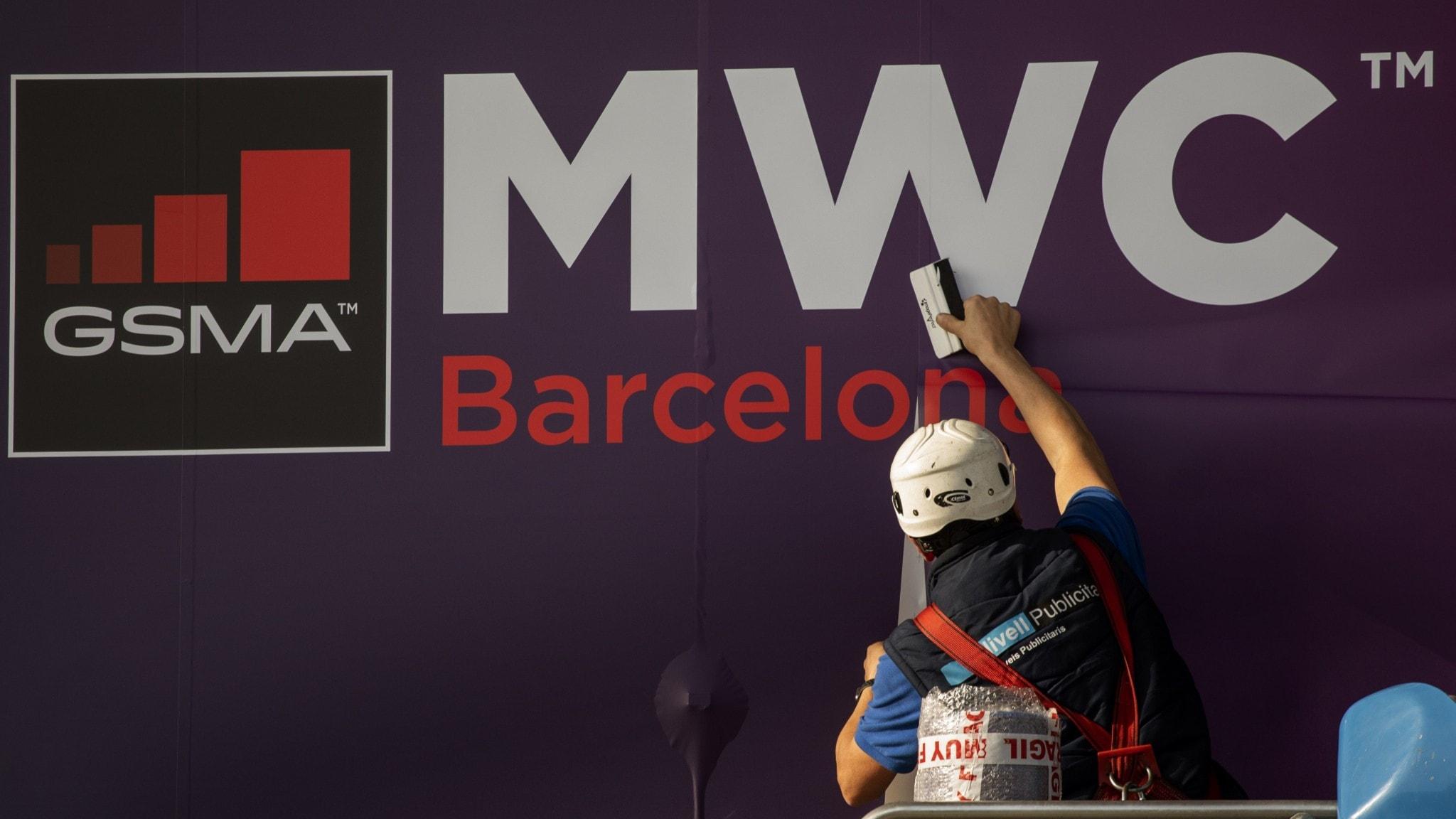 Tech-mässan i Barcelona ställs in.
