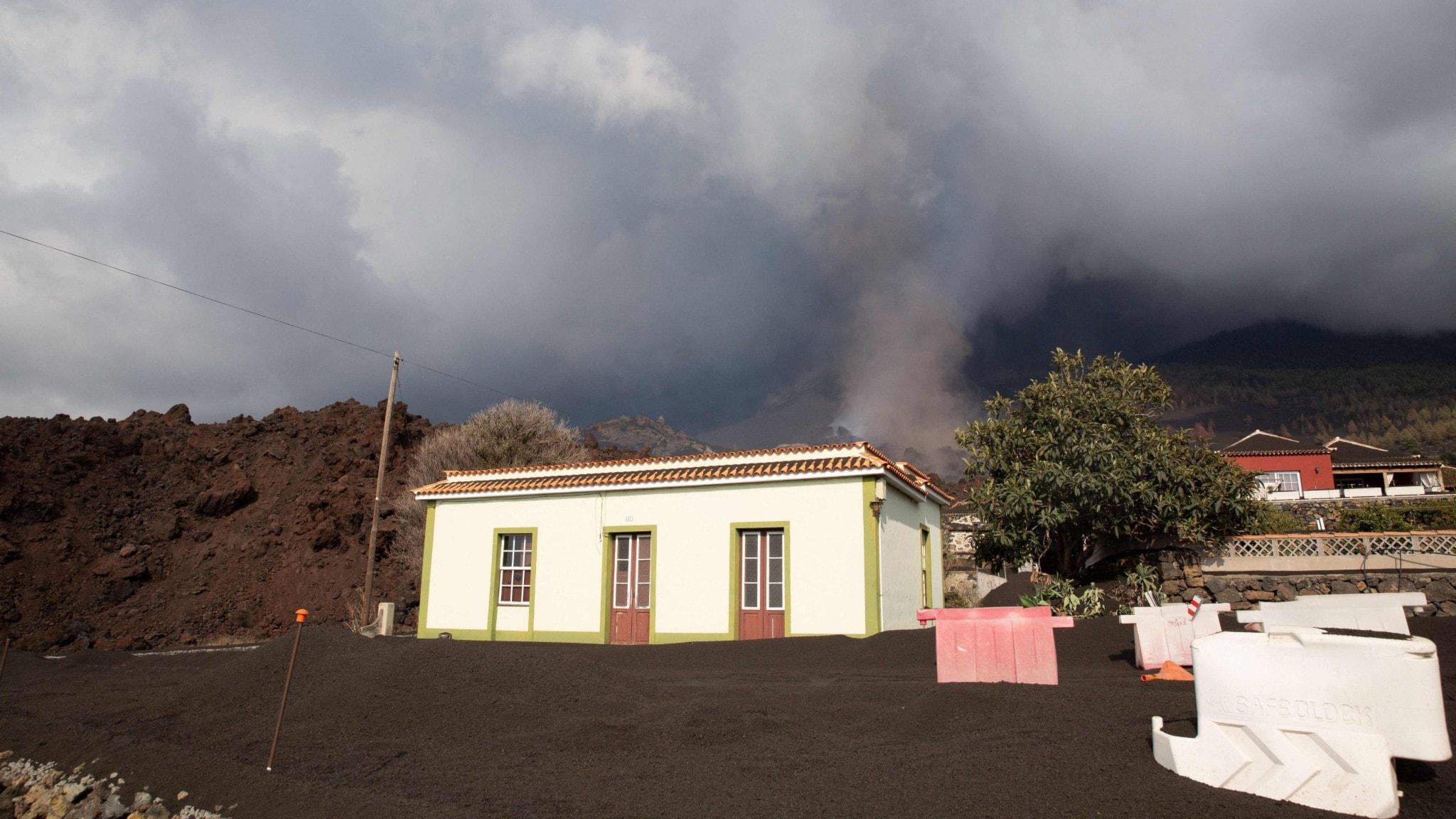 Vulkanen på La Palma