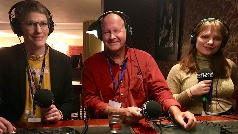 Alexandra Blixt, Malin Mobjörk och Dan Eliasson.