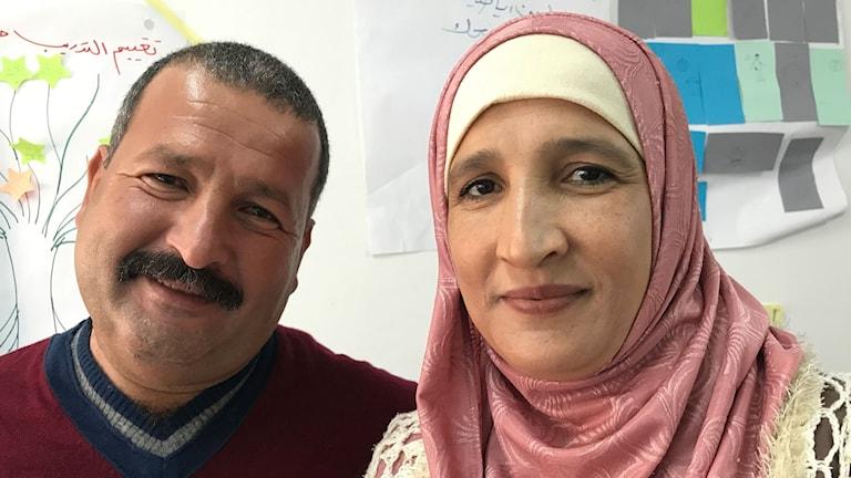 Efter månaders övertalning fick Samira makens godkännande att jobba.