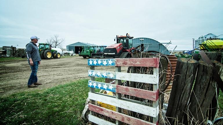 Kasey Bitz driver ett familjejordbruk i hjärtat av North Dakota.