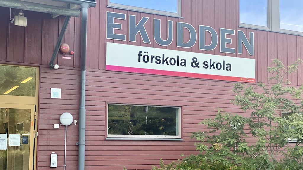 Ekuddenskolan i Uppsala.