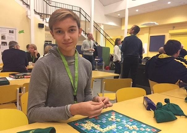 Yngsta deltagaren, Mattias Persson.