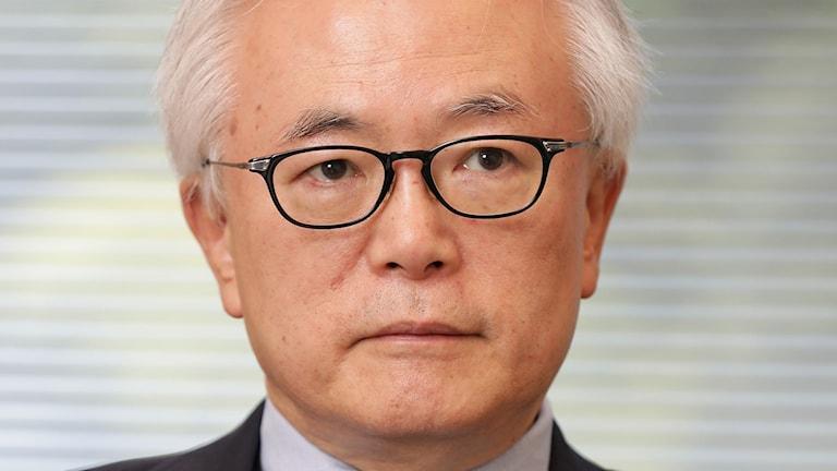 Tomohiko Taniguchi, särskild rådgivare i utrikespolitiska frågor till Japans premiärminister Shinzo Abe.