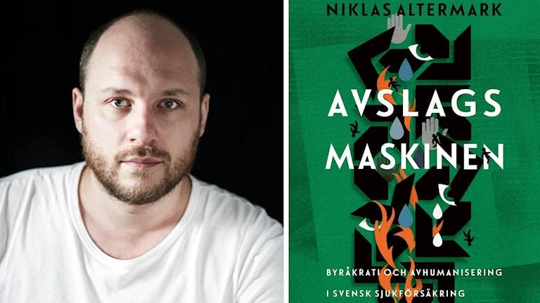 """Niklas Altermark, doktor i statsvetenskap vid Lunds universitet, som skrivit boken """"Avslagsmaskinen""""."""