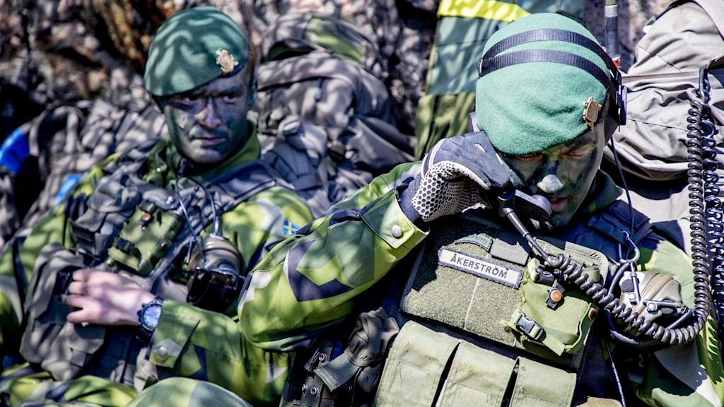 Försvaret får ett tillskott på 13 miljarder. På bilden syns militärövningen Swenex 20 som hölls i maj i år.