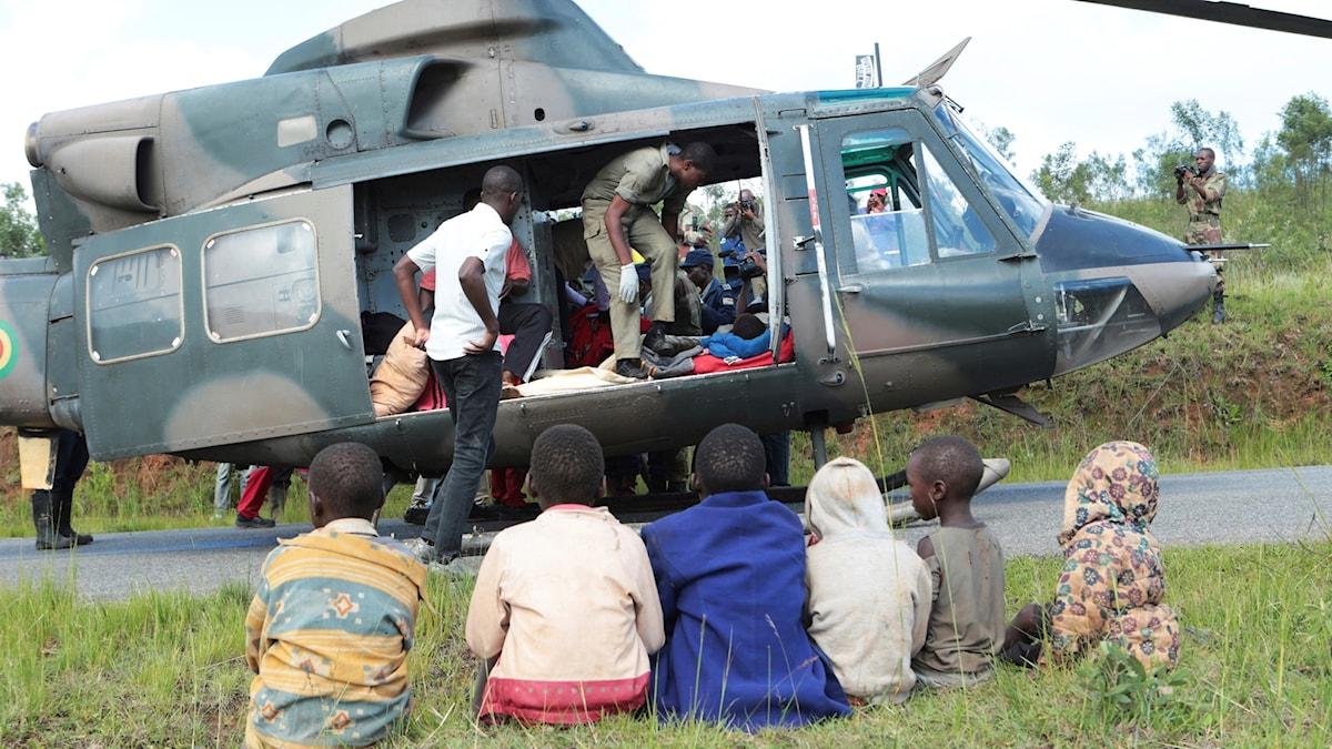 Katastrofläge i östra Afrika