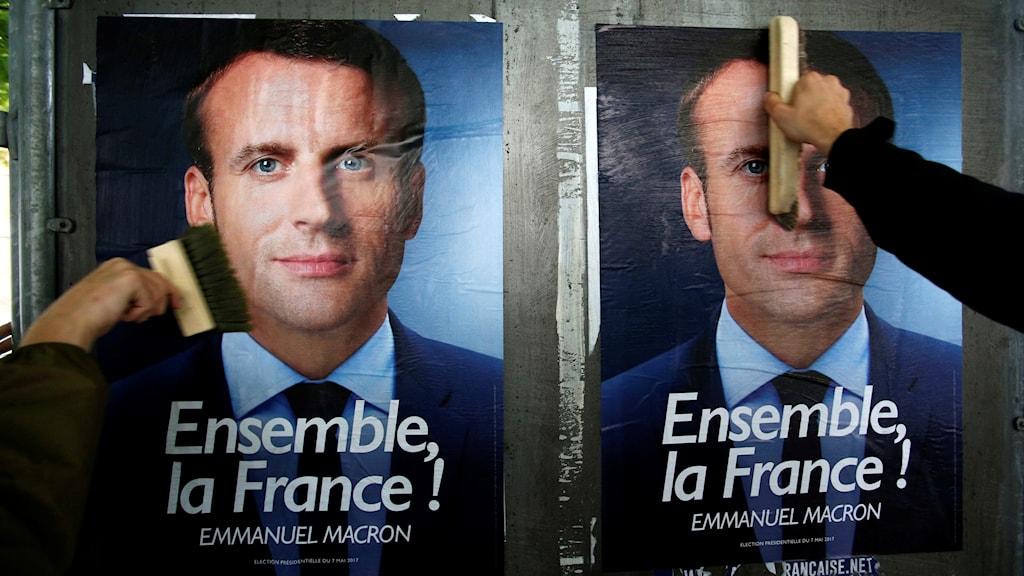 Presidentkandidaten Emmanuel Macron.
