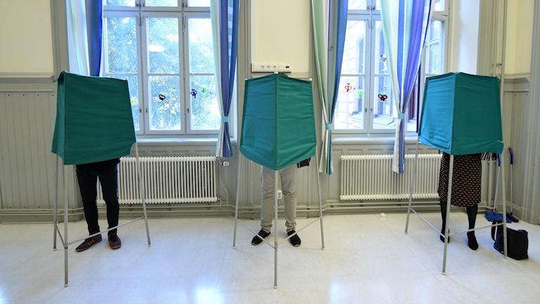 Röstning.