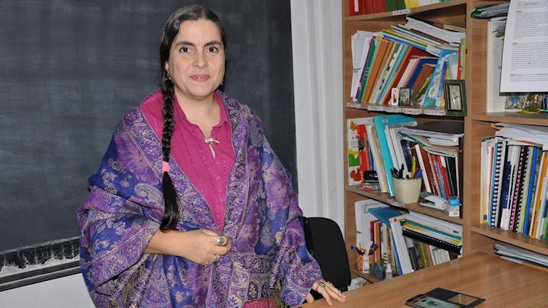 Delia Grigore är en av ledarna för människorättsorganisationen Amare Rromentza.