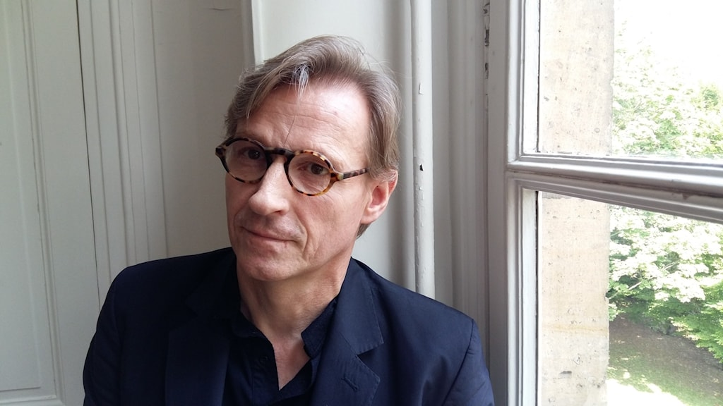 Guillaume Husson på bokhandlarnas fackförening.