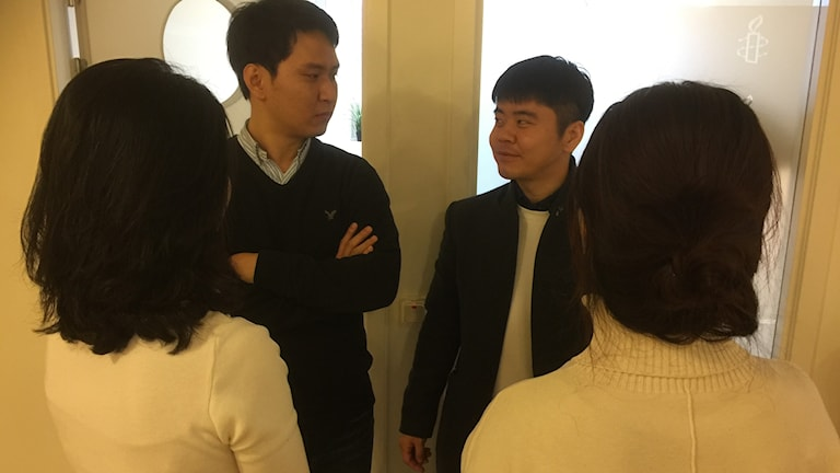 Människorättsaktivister från Nordkorea, kvinnorna arbetar anonymt i exil, medan Kim Keon-woo och Ji Cheol-ho jobbar öppet för barns rättigheter.