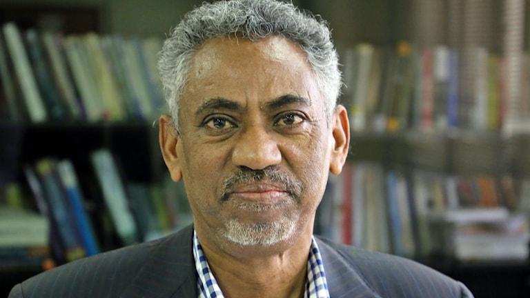 Eritrea's information minister Yemane Gebremeskel.