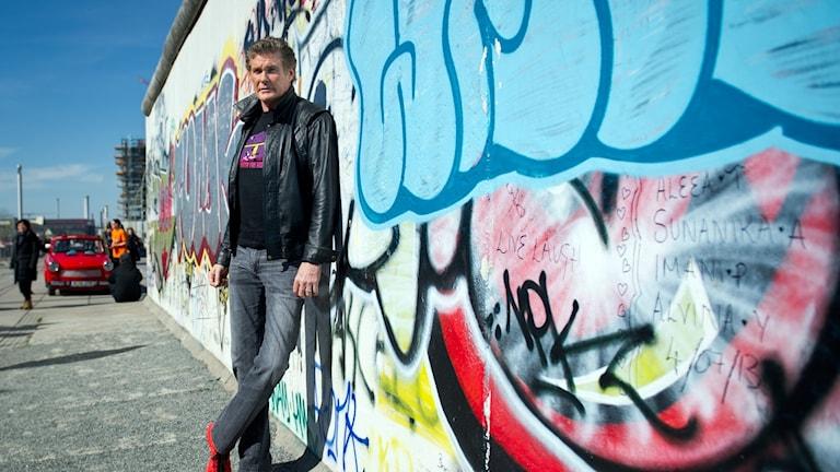 David Hasselhoff in Berlin