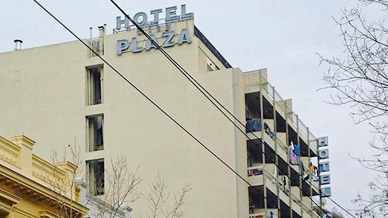 När ockupationen av Hotel City Plaza inleddes hade hotellet stått övergivet i sju år.