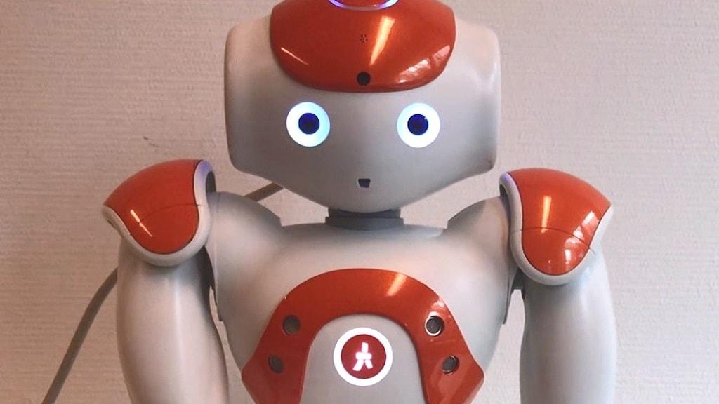 Den empatiska roboten Nao.