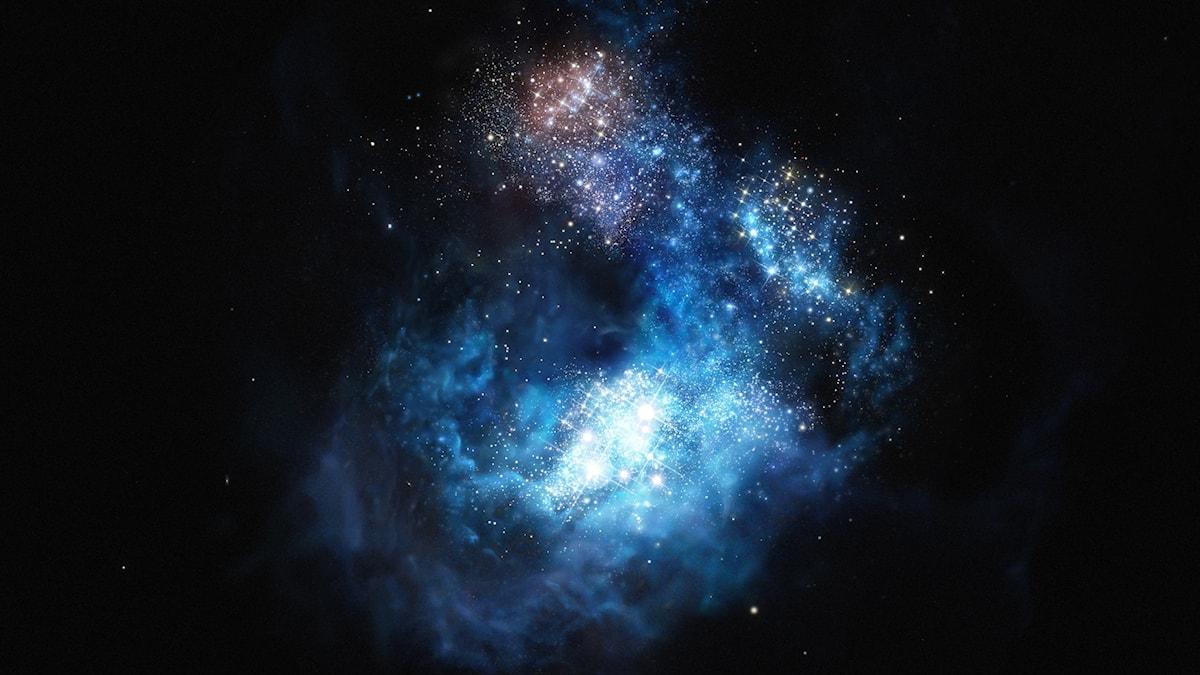 Bild på en galax