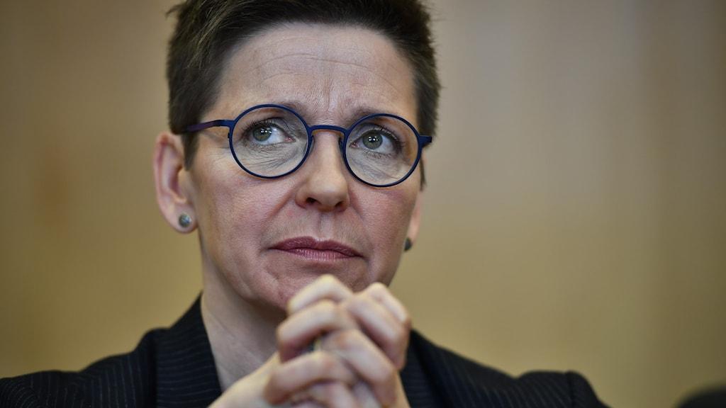 Socialdemokraten och före detta kommunstyrelseordförande i Göteborgs stad, Ann-Sofie Hermansson.