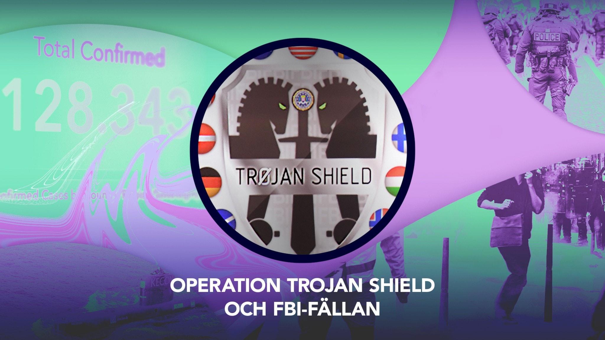 Den 7 juni 2021 slår poliser till över hela världen. Över 800 misstänkta, varav 155 personer med koppling till Sverige. Det visar sig att FBI gillrat en avlyssningsfälla – och kunnat följa kriminella chattar i realtid.