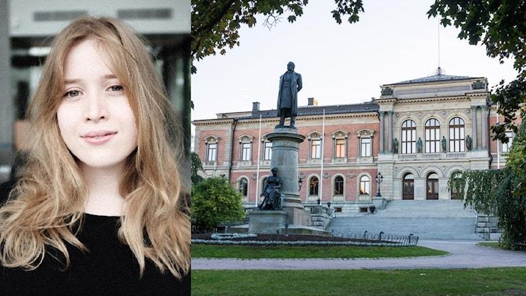 Kvinna och Uppsala universitet