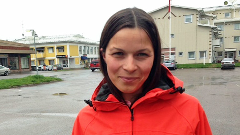 Elin-Anna Labba från Kiruna säger att alla som har möjlighet borde söka minoritetsspråk. Foto: Malin Winberg / Sveriges Radio