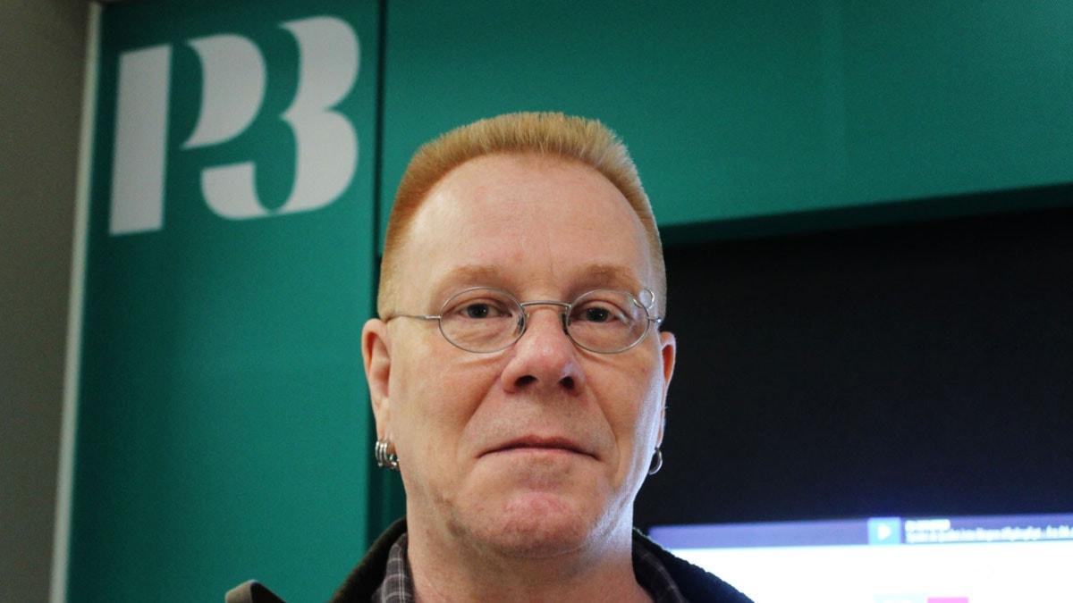 Mats Dagerlind är ansvarig utgivare på sajten Avpixlat. Foto: Björn Berglund/SR