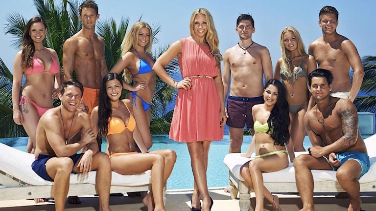TV3:s Paradise Hotel 2014. Foto: TV3/ Johnny Wohlin
