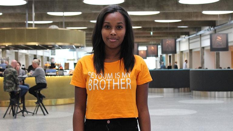 Vanessa Berhes morbror sitter också fängslad i Eritrea sedan 13 år tillbaka. Foto: Olivia Berntsson/P#