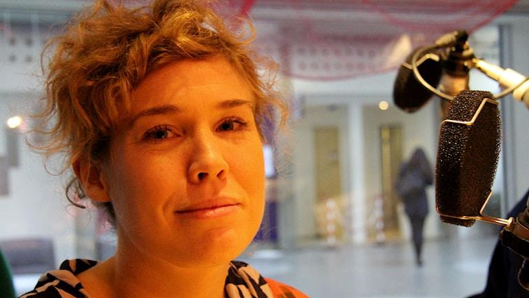 Johanna Linder från Läkare utan gränser om myterna som skadar. Foto: P3 Nyheter