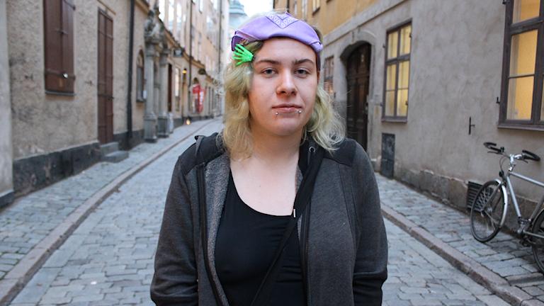 Taisa levde som hemlös från att hon var 14 år Foto: Alexander Letic/Sveriges Radio